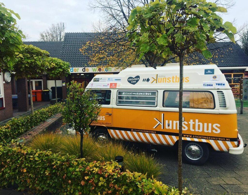 Duurzaamheid bij Stichting Kunstbus